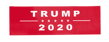Load image into Gallery viewer, Trump 2020 Red Campaign Bumper Sticker 2-Pack