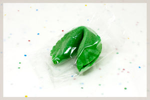100 Lime Fortune Cookies