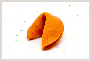 100 Orange Fortune Cookies
