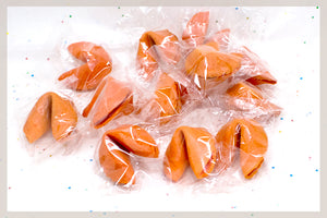 450 Orange Fortune Cookies
