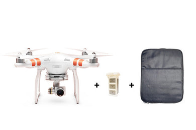 DJI Phantom 3 Standard + Extra battery + Free Back Pack