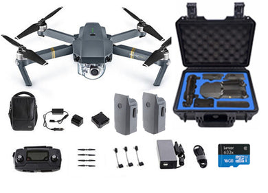 DJI Mavic Pro Fly more Combo with Free Pelican style Case