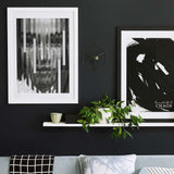 Divided Beauty Contemporary Wall Art - Print A2