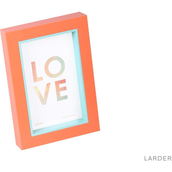 Allegra Photo Frame - Coral