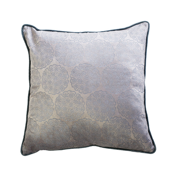 Harlow Pearl Feather Filled Velvet Cushion 50 x 50 cm