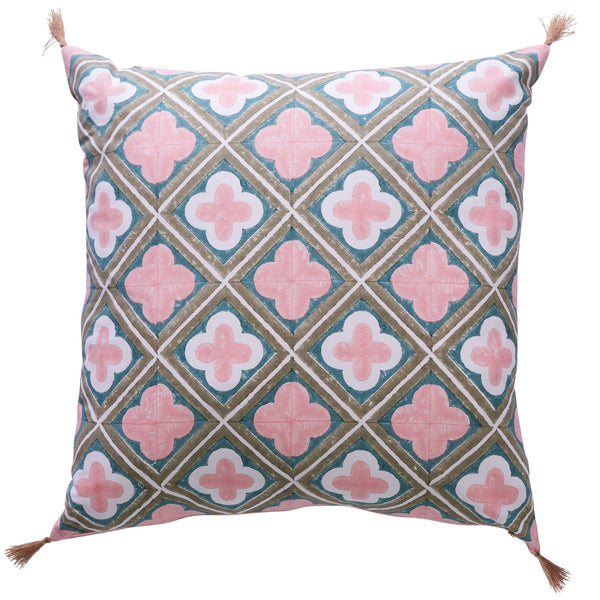 Clover Jemima Feather Filled Cushion 60 x 60 cm