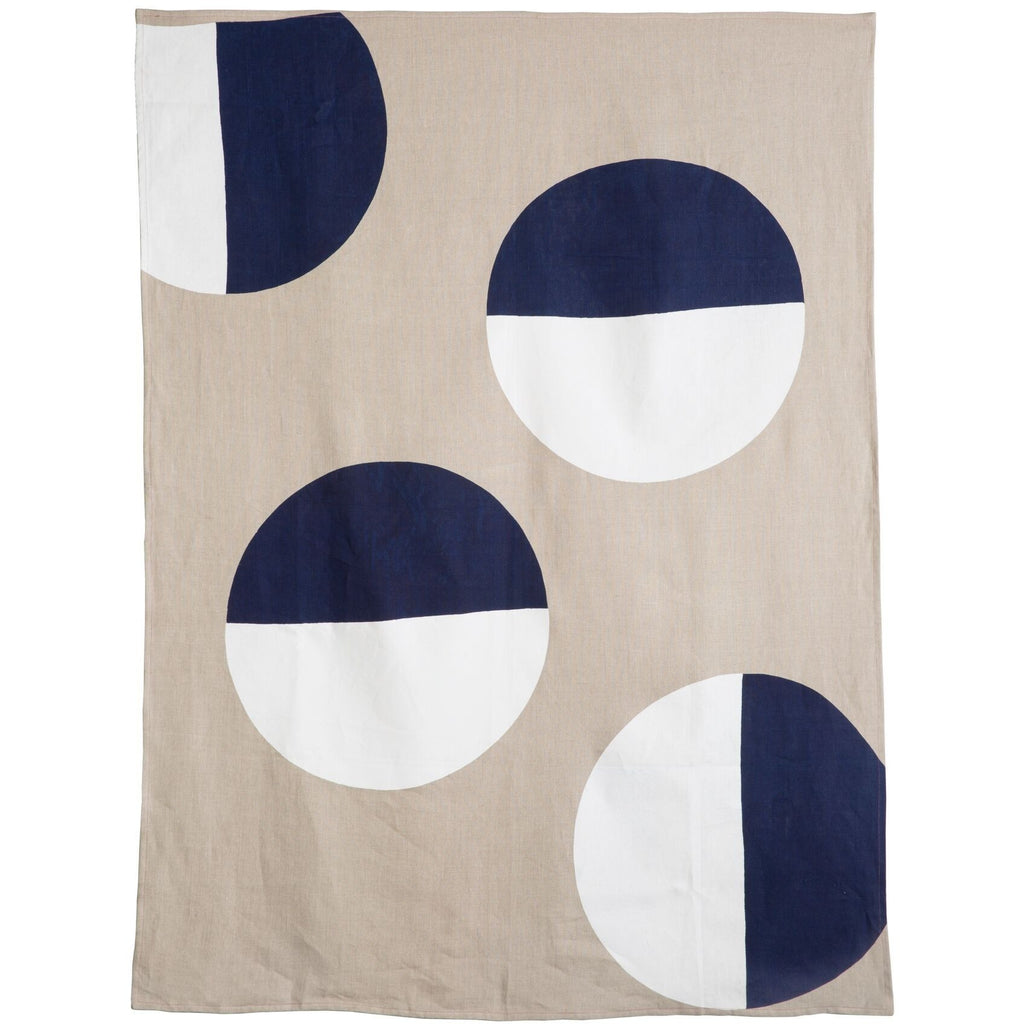 The Eclipse Linen Throw