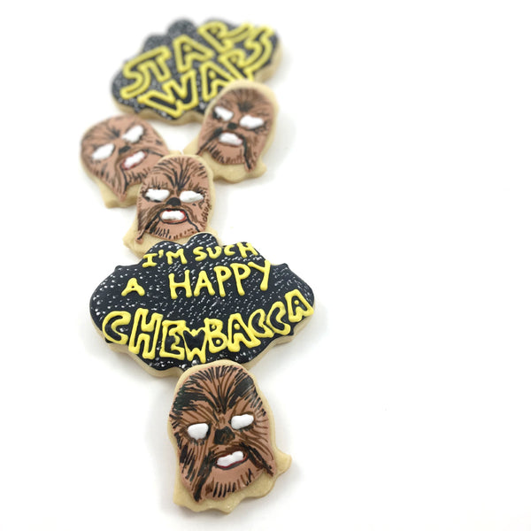 Star Wars Happy Chewbacca Mom - Half Dozen