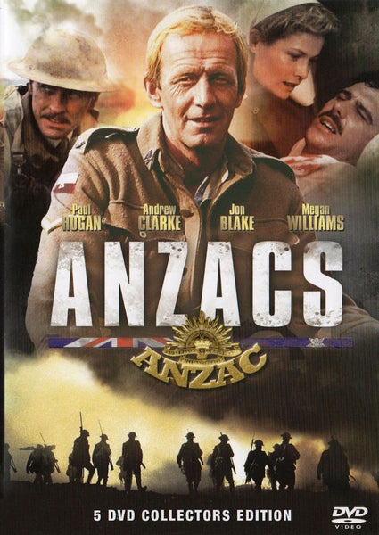 ANZACS (1985) Complete Mini-series Deluxe 5-Disc set!
