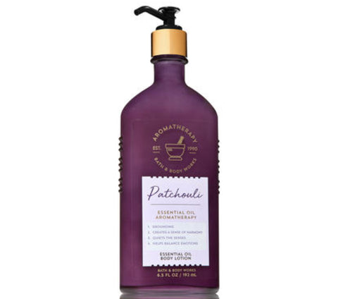 Bath & Body Works Patchouli Aromatherapy Lotion