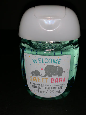 Bath & Body Works Welcome Sweet Baby  Pocketbac