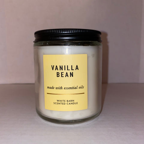 Bath & Body Works Single Wick Vanilla Bean Candle