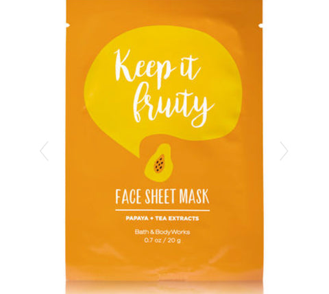 Bath & Body Works Keep It Fruity Face Mask