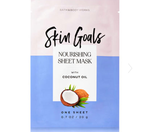 Bath & Body Works Skin Goals Coconut Oil Face Mask