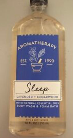 Bath & Body Works Aromatherapy Sleep Lavender Cedarwood Body Wash
