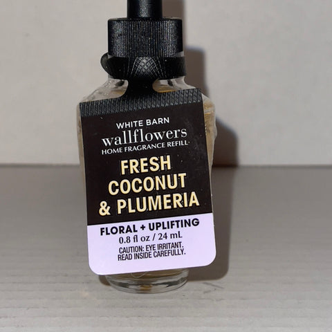 Bath & Body Works Fresh Coconut Plumeria Wallflower Refill