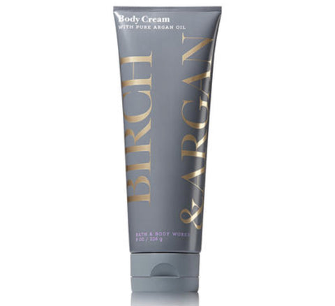 Bath & Body Works Birch & Argan Body Cream