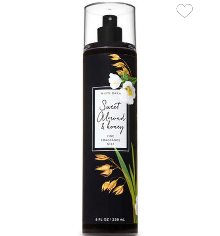 Bath & Body Works Sweet Almond & Honey Fragrance Mist