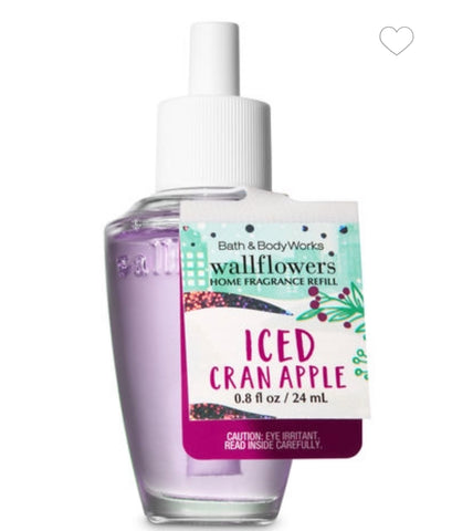 Bath & Body Works Iced Cran Apple Wallflower Refill