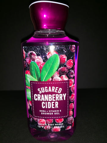 Bath & Body Works Sugared Cranberry Cider Shower Gel