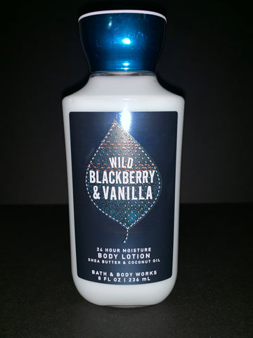Bath & Body Works Wild Blackberry & Vanilla Lotion