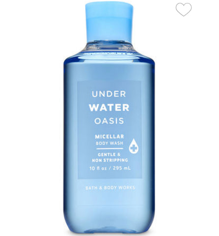 Bath & Body Works Under Water Oasis Shower Gel