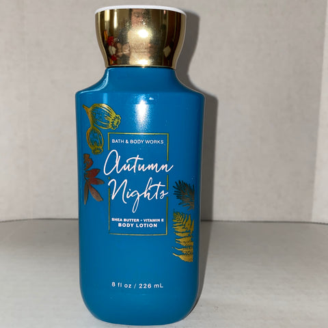 Bath & Body Works Autumn Nights Lotion