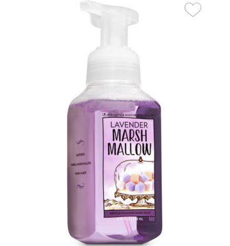 Bath & Body Works Lavender Marshmallow Foaming Hand Soap