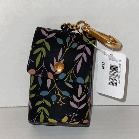 Bath & Body Works Floral Snap Case Pocketbac Holder
