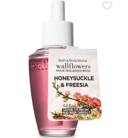 Bath & Body Works Honeysuckle & Freesia Wallflower Refill