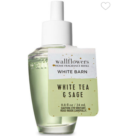 Bath & Body Works White Tea & Sage Wallflower Refill