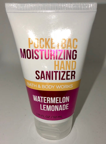 Bath & Body Works Watermelon Lemonade  Pocketbac Moisturizing Hand Sanitizer