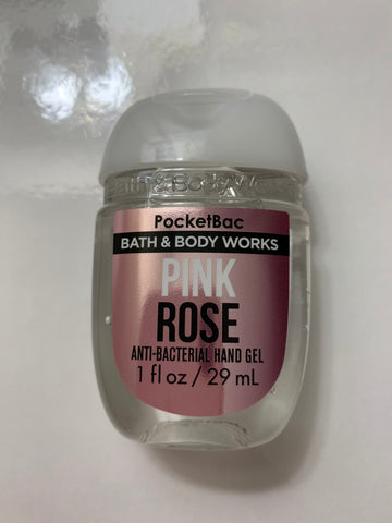 Bath & Body Works Pink Rose Pocketbac