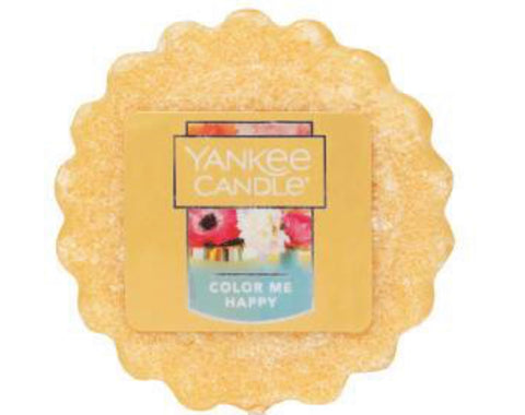 Yankee Candle Color Me Happy Wax Tart
