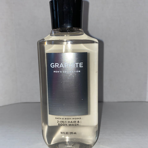 Bath & Body Works Graphite Shower Gel