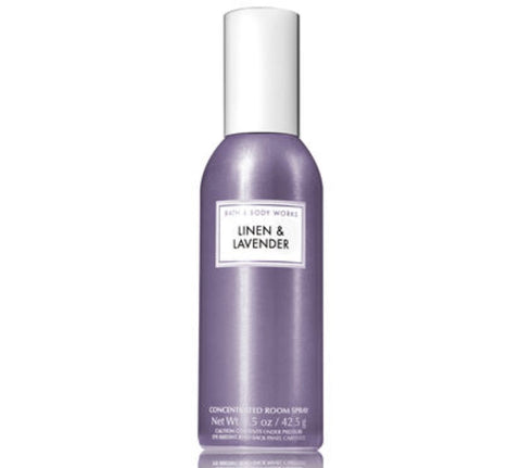 Bath & Body Works Linen & Lavender Room Spray