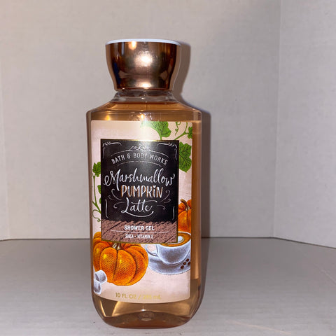 Bath & Body Works Marshmallow Pumpkin Latte Shower Gel