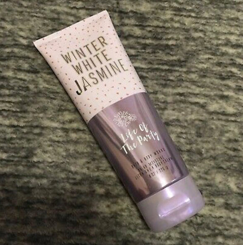 Bath & Body Works Winter White Jasmine Body Cream