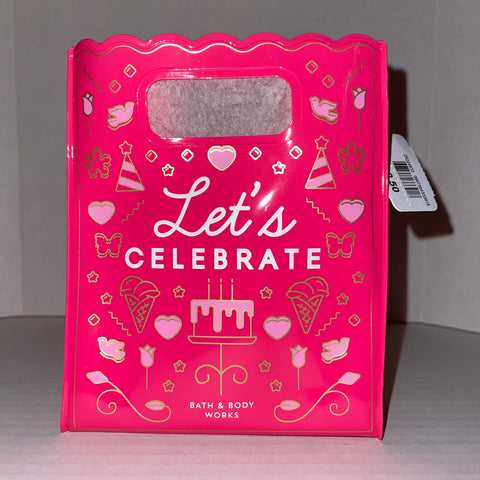 Bath & Body Works Let's Celebrate  Gift Bag