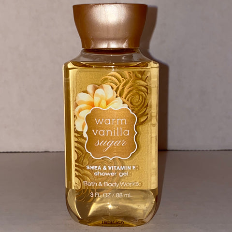 Bath & Body Works Travel Warm Vanilla Sugar Shower Gel