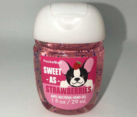 Bath & Body Sweet As Strawberries   Pocketbac
