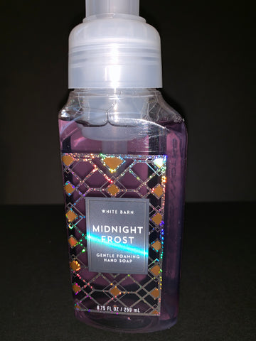 Bath & Body Works Midnight Frost Foaming Hand Soap