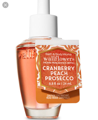 Bath & Body Works Cranberry Peach Prosecco Wallflower Refill