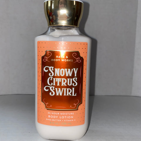 Bath & Body Works Snowy Citrus Swirl Lotion