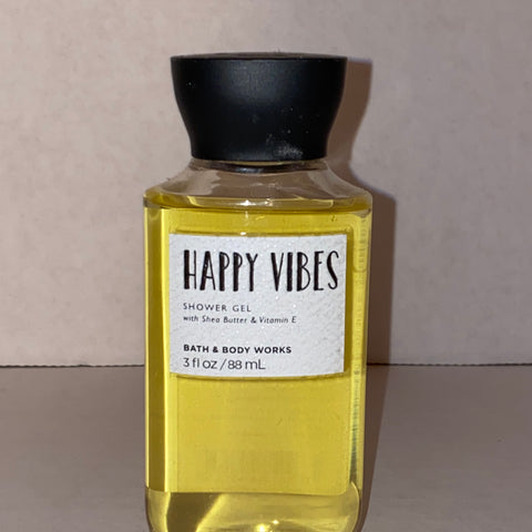 Bath & Body Works Travel Happy Vibes Shower Gel