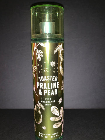 Bath & Body Works Toasted Praline & Pear Fragrance Mist