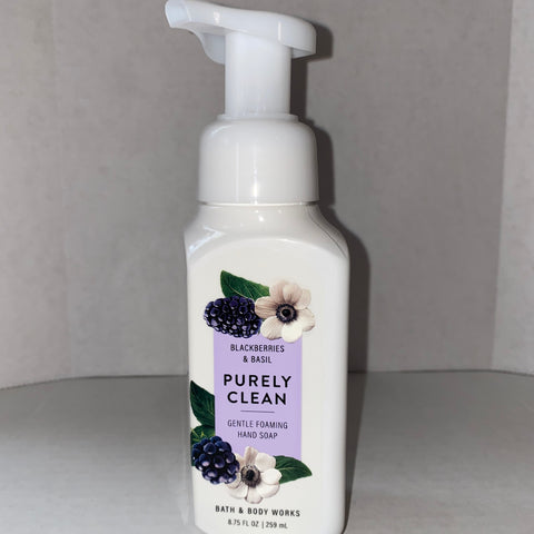 Bath & Body Works Blackberry & Basil Purely Clean  Hand Soap