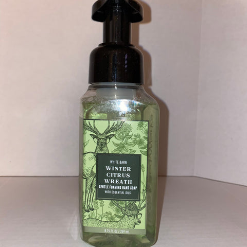 Bath & Body Works Winter Citrus Wreath Hand Soap