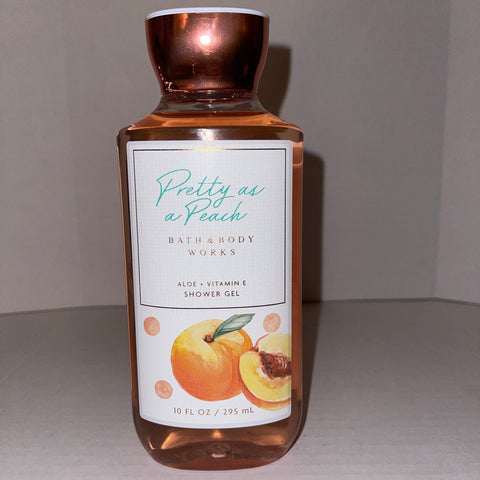 Bath & Body Works Pretty In Peach Shower Gel