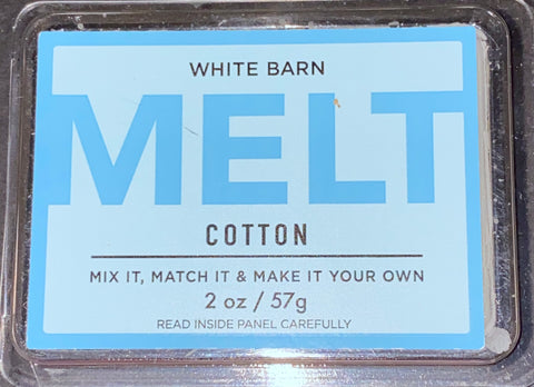 Bath & Body Works Cotton Wax Melts